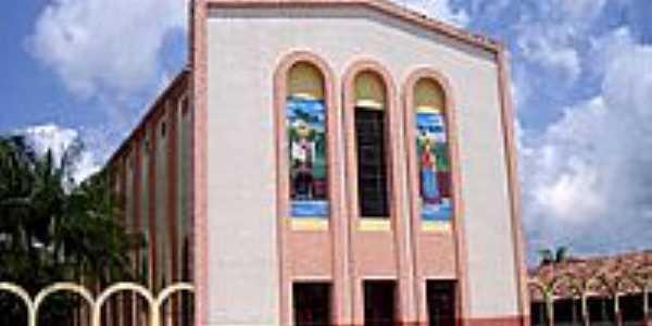 Matriz de São Francisco Xavier-Foto:Vicente A. Queiroz