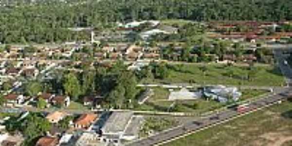 Vista a�rea de Barcarena-PA-Foto:Ricardo Borges