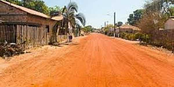 Barreira dos Campos-PA-Rua da localidade-Foto:trotezito.blogspot.com