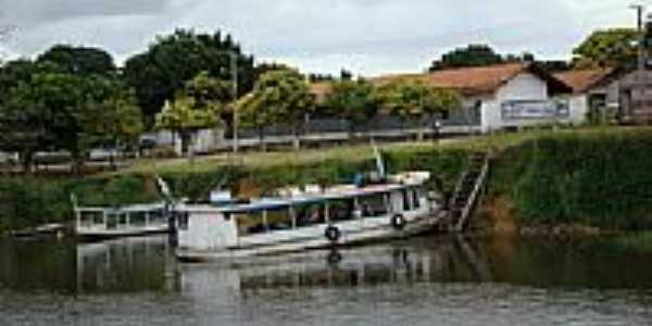 Atracadouro em Vila de Barreiras-Foto:Jota Parente