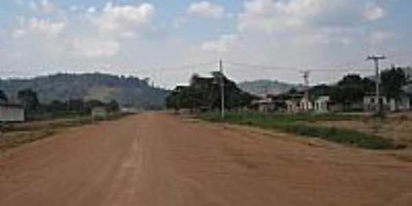 Bela vista do Caracol-PA-Estrada cortando a cidade-Foto:Fabio Jr Oliveira
