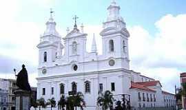 Belém - Belém-PA-Catedral de N.Sra.da Divina Graça na Cidade Velha-Foto:Vicente A. Queiroz