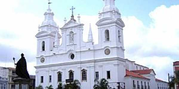 Bel�m-PA-Catedral de N.Sra.da Divina Gra�a na Cidade Velha-Foto:Vicente A. Queiroz