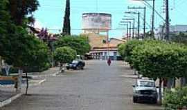 Cacul� - Cacul�-BA-Avenida central e Caixa D��gua-Foto:Sin�sio Prates Filho