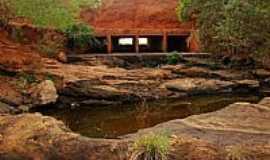 Caculé - Caculé-BA-Sangradouro Barragem do Comocochico na seca-Foto:Sinésio Prates Filho