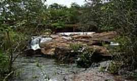 Caculé - Caculé-BA-Sangradouro Barragem do Comocochico nas cheias-Foto:Sinésio Prates Filho