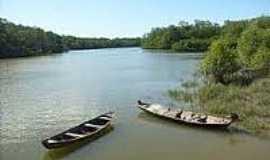 Boa Vista do Iririteua - Canoas no rio-Foto:portalcuruca