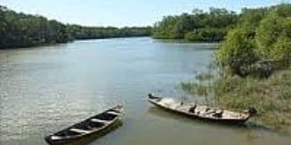 Canoas no rio-Foto:portalcuruca