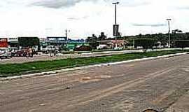 Bom Jesus do Tocantins - Avenida em Bom Jesus do Tocantins-PA-Foto:Eduardo Maia
