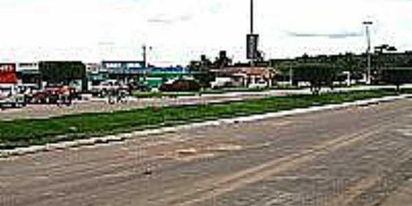Avenida em Bom Jesus do Tocantins-PA-Foto:Eduardo Maia