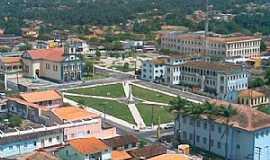 Bragança - Bragança-PA-Vista do Centro da cidade-Foto:www.pousadaaruans.com.br