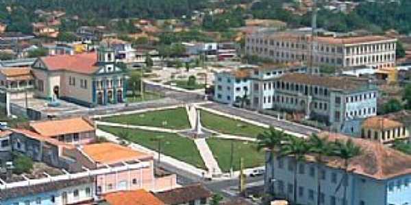 Bragança-PA-Vista do Centro da cidade-Foto:www.pousadaaruans.com.br