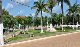 Brasil Novo - Brasil Novo-PA-Praça central-Foto:www.brasilnovo.pa.