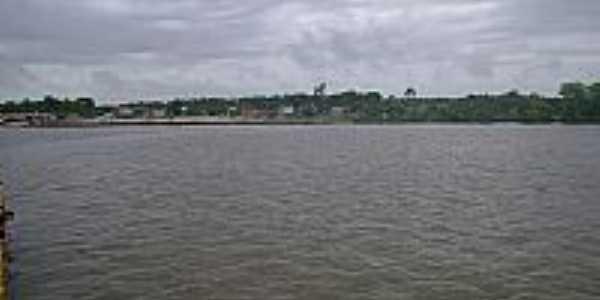 O rio e a cidade de Bujaru-PA-Foto:Hernany Campos