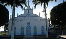 Cachoeira do Arari - Igreja Matriz em Cachoeira do Arari-Foto:silvio alaimo sj