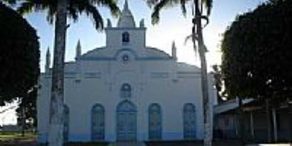 Igreja Matriz em Cachoeira do Arari-Foto:silvio alaimo sj