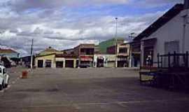 Caetanos - Praça do Mercado em Caetanos-BA-Foto:marcelobragacaetanos