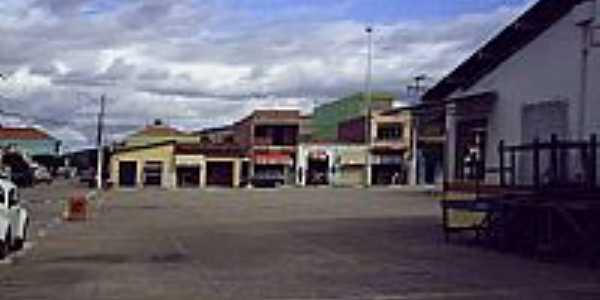 Praça do Mercado em Caetanos-BA-Foto:marcelobragacaetanos