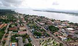 Cametá - Vista aérea de Cametá-PA-Foto:Cametaoara