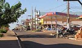 Canaã dos Carajás - Rua central da cidade-Foto:mminfo