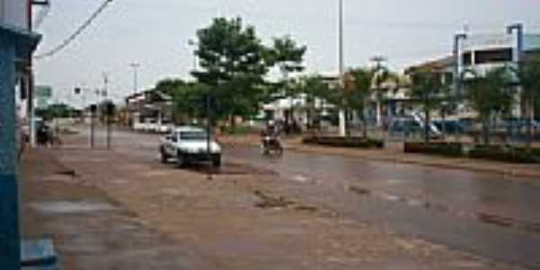 Avenida em Canaã dos Carajás-Foto:nandimdoacordeon