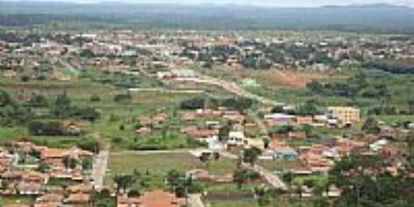 Vista da cidade de Canaã dos Carajás-PA-Foto:Mminfo