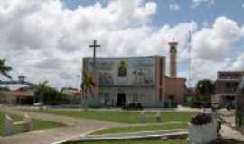 Capanema - Vis�o geral da Igreja Matriz, Por Claudio Fran�a