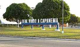 Capanema - Entrada da cidade de Capanema-PA-Foto:Lowfill
