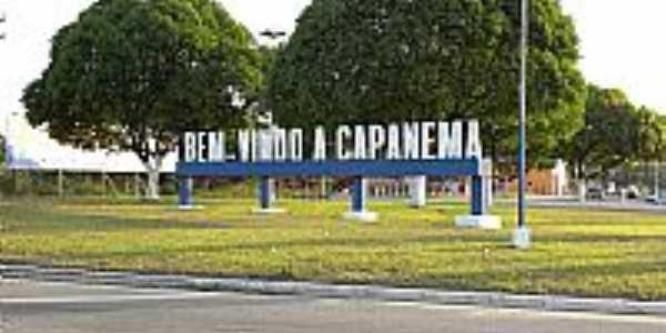Entrada da cidade de Capanema-PA-Foto:Lowfill