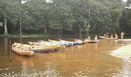 Caraparu - Barcos na Vila de Caraparu-Foto:Carlos Fernando Mace…
