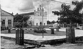 Castanhal - Matriz de São José no início dos anos 60 em Castanhal-PA-Foto:Reginaldo Abreu
