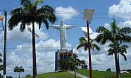 Castanhal - Pra�a do Cristo em Castanhal-PA-Foto:Asael