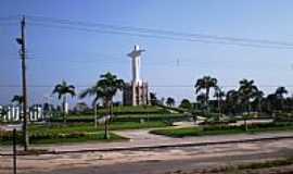 Castanhal - Praça do Cristo Redentor em Castanhal-PA-Foto:Odilson Sá