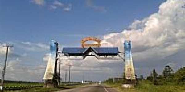 Portal de entrada de Castanhal-PA-Foto:flaviojesus