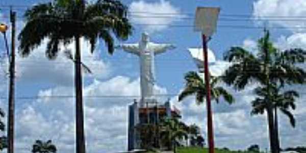 Pra�a do Cristo em Castanhal-PA-Foto:Asael