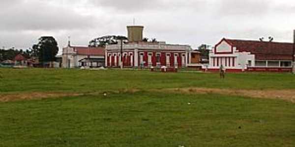 Chaves-PA-Câmara, Prefeitura e Igreja de Santo Antônio-Foto:Cristiano Oliveira