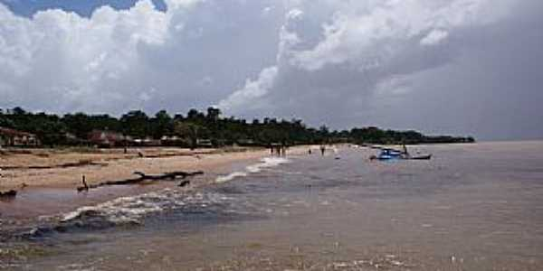 Colares-PA-Praia onde foi visto OVNIS-Foto:PEDRO PAULO