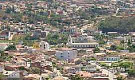 Caetit� - Catedral e Feira Velha  por Caetiteense