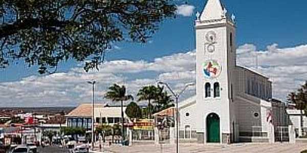 Caetité-BA-Catedral de N.Sra.de Santana-Foto:Natureza Brasileira