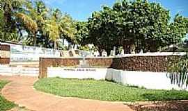 Conceição do Araguaia - Memorial Chico Mendes na Praça dos Buritis em Conceição do Araguaia-Foto:alcideschacall