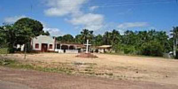 Concórdia do Pará-PA-Cruzeiro e Igreja-Foto:PEDRO PAULO