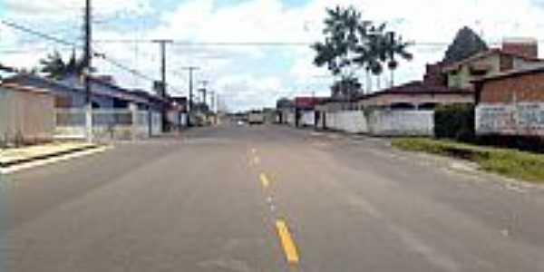 Avenida Secundária em Coqueiro-PA-Foto:Anderson Gomes
