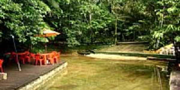 Piscina Natural no Parque dos Igarapés em Coqueiro-PA-Foto:Aurelino Santos Jr