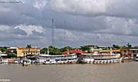 Curralinho - Barcos de passageiros em Curralinho-PA-Foto:Heraldo Amoras