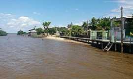 Curralinho - Curralinho-PA-Rua Marambaia e orla marítima-Foto:cmcurralinho.pa.