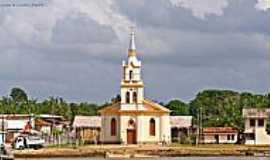 Curralinho - Igreja Matriz de Curralinho-PA-Foto:Heraldo Amoras
