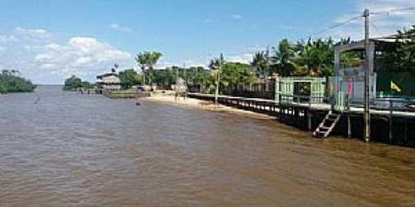 Curralinho-PA-Rua Marambaia e orla marítima-Foto:cmcurralinho.pa.