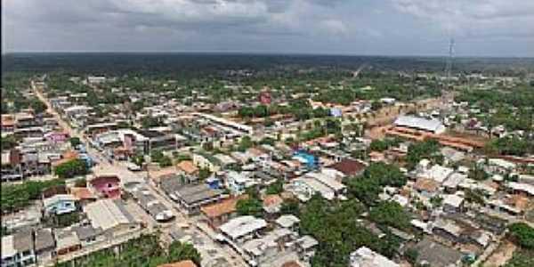 Curralinho-PA-Vista aérea da cidade-Foto:cmcurralinho.pa.