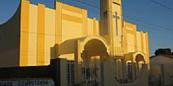 Igreja Católica em Cafarnaum-BA-Foto:cleristonss