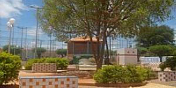 Praça da Quadra em Cafarnaum-BA-Foto:cleristonss
